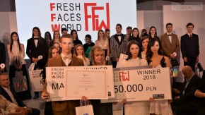 MARYSIA KŁODA i MATEUSZ BRODZIAK lauretami konkursu FRESH FACES WORLD 2018.